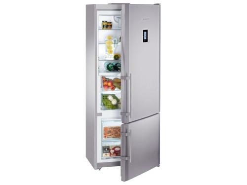 Холодильник Liebherr CBNPes 4656 серебристый, вид 1