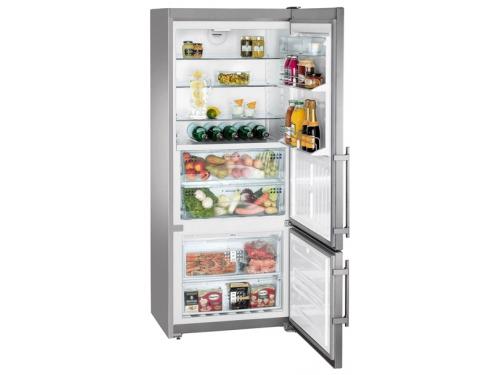 Холодильник Liebherr CBNPes 4656 серебристый, вид 2