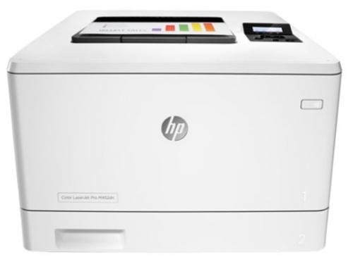 Лазерный цветной принтер HP Color LaserJet Pro M452dn CF389A, вид 1