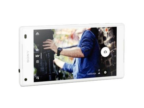 Смартфон Sony Xperia Z5 Compact белый, вид 5