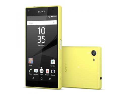 Смартфон Sony Xperia Z5 Compact жёлтый, вид 1