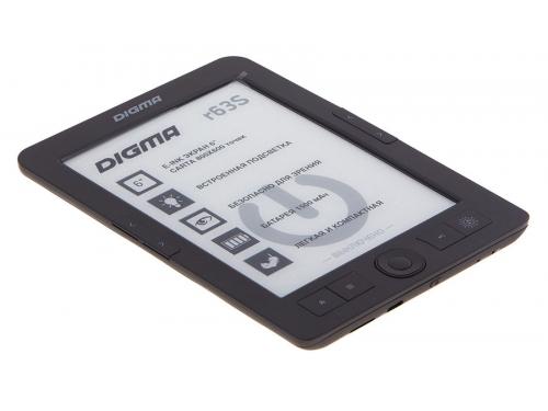 Электронная книга Digma R63S темно-серая, вид 2