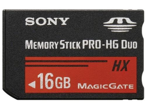 Карта памяти Sony MSHX16B (Memory Stick Pro-HG Duo, 16Гб), вид 1