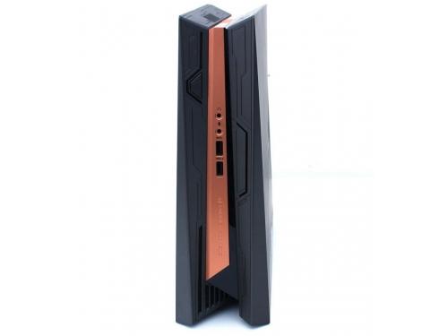 Фирменный компьютер Asus ROG GR8 II-T031Z (Core i7 7700/16Gb/1256Gb HDD+SSD/DVD нет/NVIDIA GeForce GTX 1060 3Gb/Wi-Fi/Bluetooth/Win 10 Home), чёрно-золотистый, вид 5
