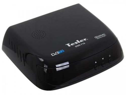 Tv-тюнер Tesler DSR-710, черный, вид 1