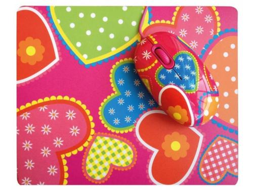 Мышка CBR Candy USB + коврик, вид 2