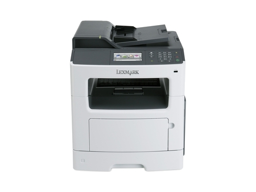 МФУ Lexmark MX410de, лазерное, вид 1