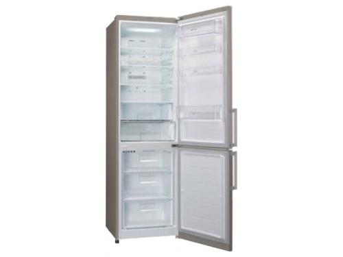 Холодильник LG GA-B489YEQZ бежевый, вид 1