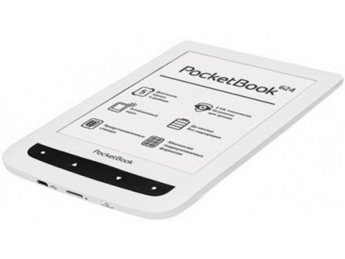 Электронная книга PocketBook 624, белая, вид 2