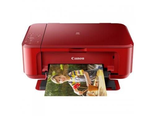 МФУ Canon PIXMA MG3640 струйное, Красный, вид 1