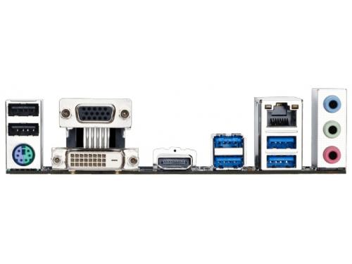 Материнская плата GIGABYTE GA-H170M-HD3 DDR3 (rev. 1.0) (mATX, LGA1151, Intel H170), вид 3
