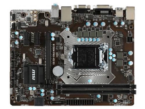 ����������� ����� MSI B150M PRO-VD D3 (mATX, LGA1151, Intel B150), ��� 1