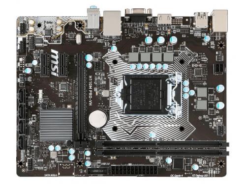 Материнская плата MSI H110M PRO-VH (mATX, LGA1151, Intel H110), вид 1