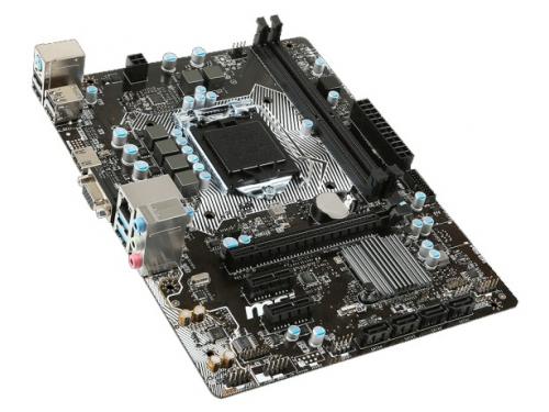 Материнская плата MSI H110M PRO-VH (mATX, LGA1151, Intel H110), вид 2