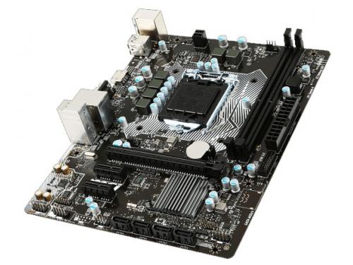 Материнская плата MSI H110M PRO-VH (mATX, LGA1151, Intel H110), вид 3