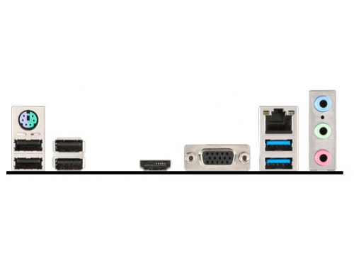Материнская плата MSI H110M PRO-VH (mATX, LGA1151, Intel H110), вид 4
