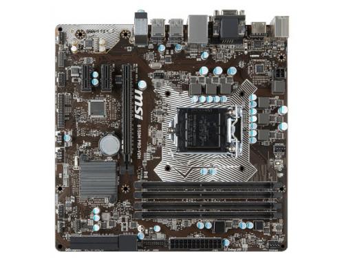 Материнская плата MSI B150M PRO-VDH (mATX, LGA1151, Intel B150), вид 1