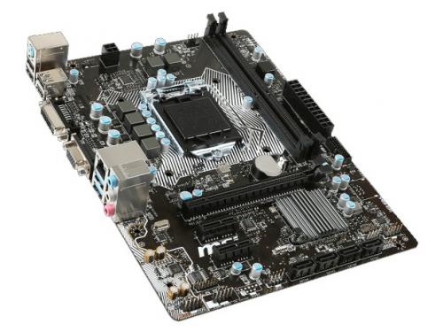 Материнская плата MSI H110M PRO-VD (mATX, LGA1151, Intel H110), вид 2