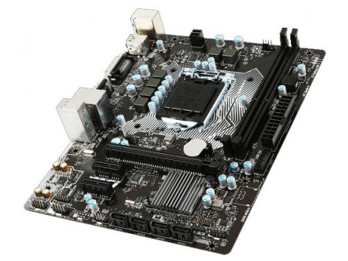 Материнская плата MSI H110M PRO-VD (mATX, LGA1151, Intel H110), вид 3