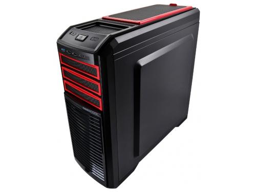 Корпус Deepcool KENDOMEN Red без БП боковое окно, черный, вид 2