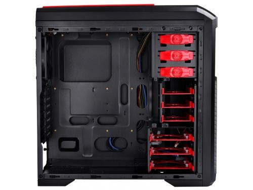 Корпус Deepcool KENDOMEN Red без БП боковое окно, черный, вид 5