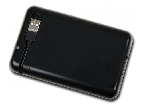 Корпус для жесткого диска AgeSTAR SUB2A8 (USB 2.0, 2.5'', SATA), чёрно-серебристый, вид 2