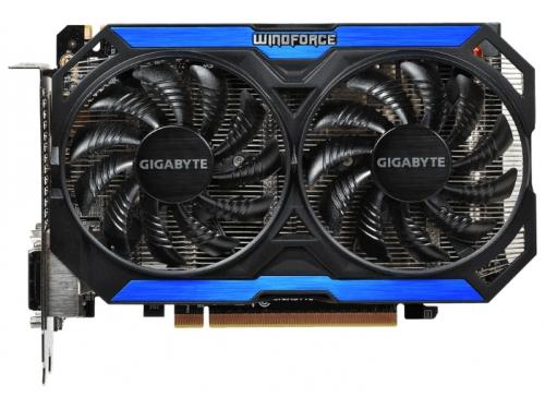 ���������� GeForce GIGABYTE GeForce GTX 960 1127Mhz PCI-E 3.0 4096Mb 7010Mhz 128 bit 2xDVI HDMI HDCP (GV-N960D5-4GD), ��� 1