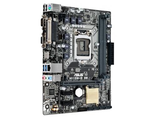 Материнская плата ASUS H110M-D D3 (mATX, LGA1151, Intel H110), вид 2