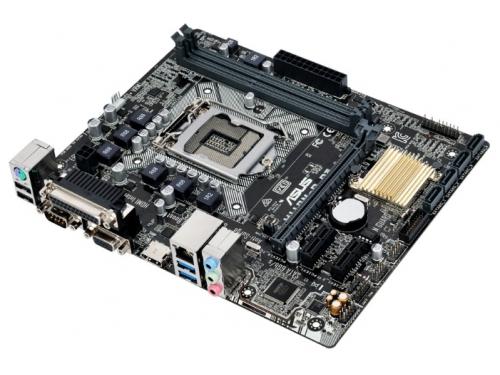 Материнская плата ASUS H110M-D D3 (mATX, LGA1151, Intel H110), вид 3