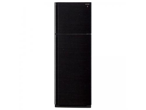 Холодильник Sharp SJ-SC451VBK чёрный, вид 1