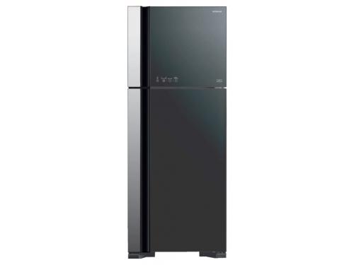 Холодильник Hitachi R-VG 542 PU3 GGR серебристый, вид 1