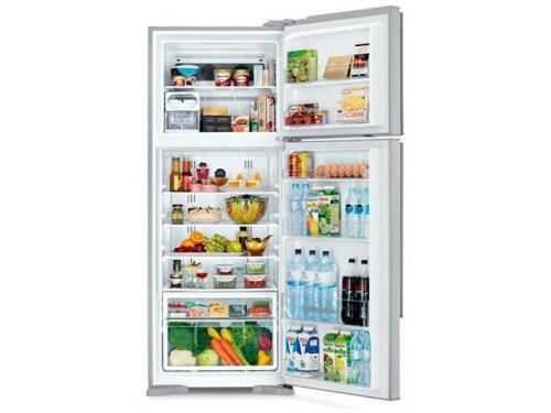 Холодильник Hitachi R-VG 542 PU3 GGR серебристый, вид 2