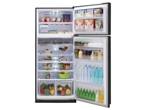 Холодильник Sharp SJ-XE59PMSL серебристый, вид 1