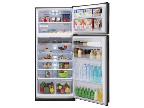 Холодильник Sharp SJ-XP59PGSL серебристый, вид 1