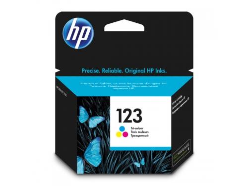Картридж HP 123 Цветной, вид 1