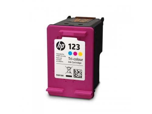 Картридж HP 123 Цветной, вид 2