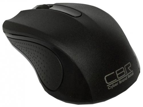 Мышка CBR CM-404 USB, чёрная, вид 2
