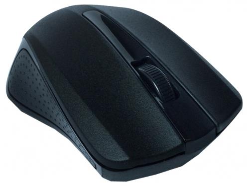 Мышка CBR CM-404 USB, чёрная, вид 3