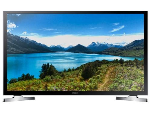 телевизор SAMSUNG UE32J4500AK, чёрный, вид 1