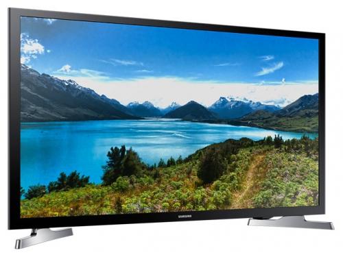 телевизор SAMSUNG UE32J4500AK, чёрный, вид 3