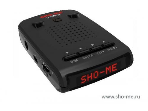 Радар-детектор Sho-Me G-900 STR, красный, вид 1