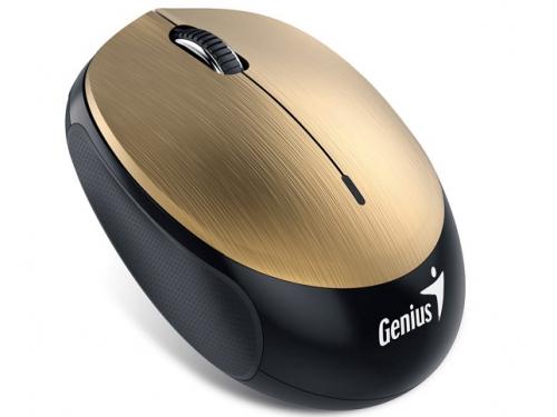 Мышь Genius NX-9000BT V2 золотистая, вид 1