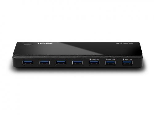 USB-концентратор TP-LINK UH700, черный, вид 1