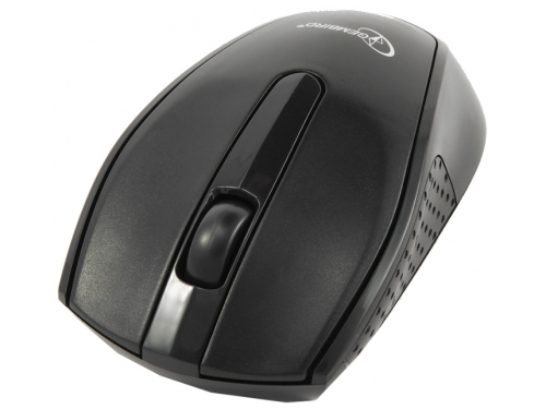 Мышка Gembird MUSW-217, черн, 2кн.+колесо-кнопка, 2.4ГГц, 1000 dpi, вид 1