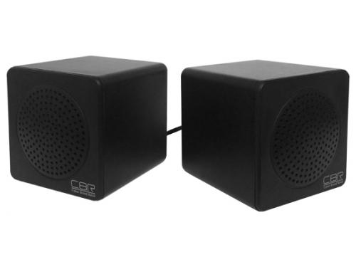 Компьютерная акустика CBR CMS 292, стерео, USB, чёрные, вид 1