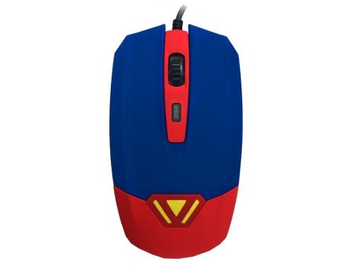 Мышка CBR CM-833 Superman, оптическая, USB, с виброприводом, вид 1