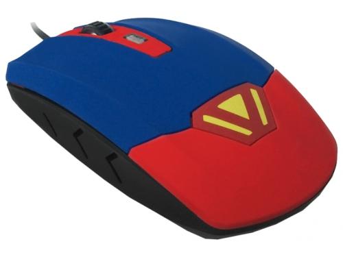 Мышка CBR CM-833 Superman, оптическая, USB, с виброприводом, вид 2