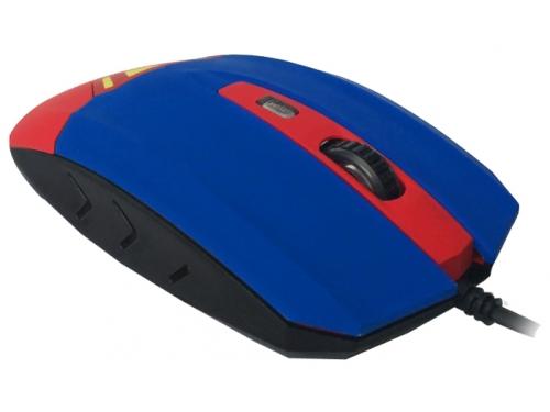 Мышка CBR CM-833 Superman, оптическая, USB, с виброприводом, вид 3
