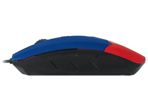 Мышка CBR CM-833 Superman, оптическая, USB, с виброприводом, вид 4