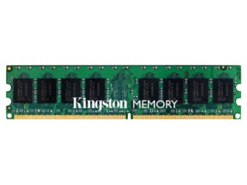 Модуль памяти Kingston KVR800D2N6/1G (DDR2, 1 Gb, 800 MHz, CL6, DIMM, низкопрофильная), вид 2